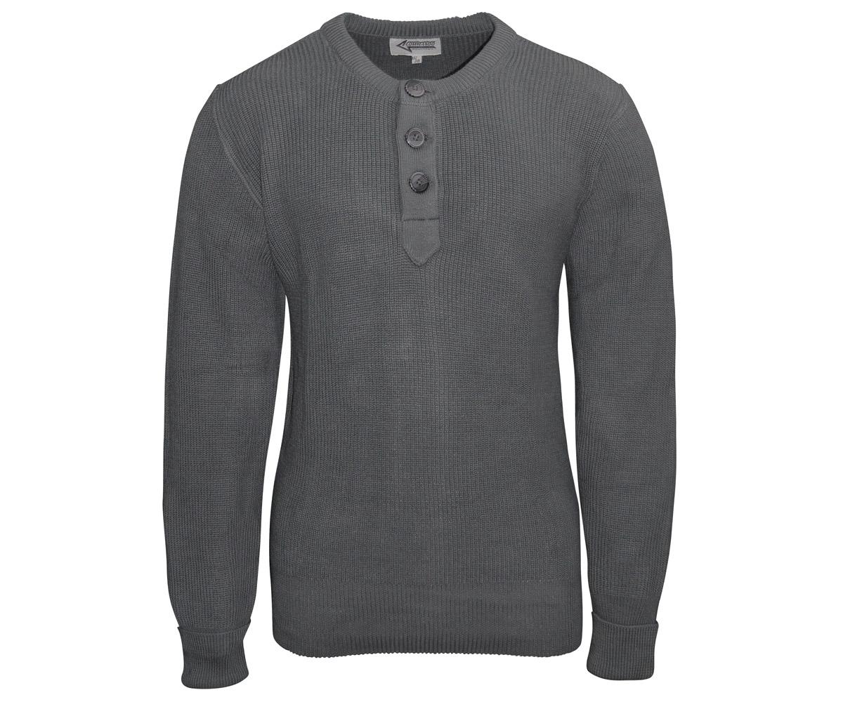 BW Gebirgsjäger Pullover grau