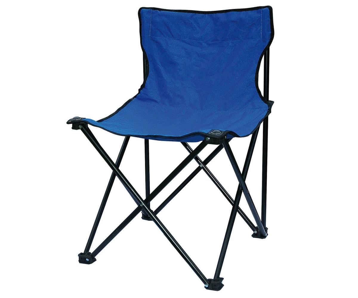 Outdoor Camping Faltstuhl blau