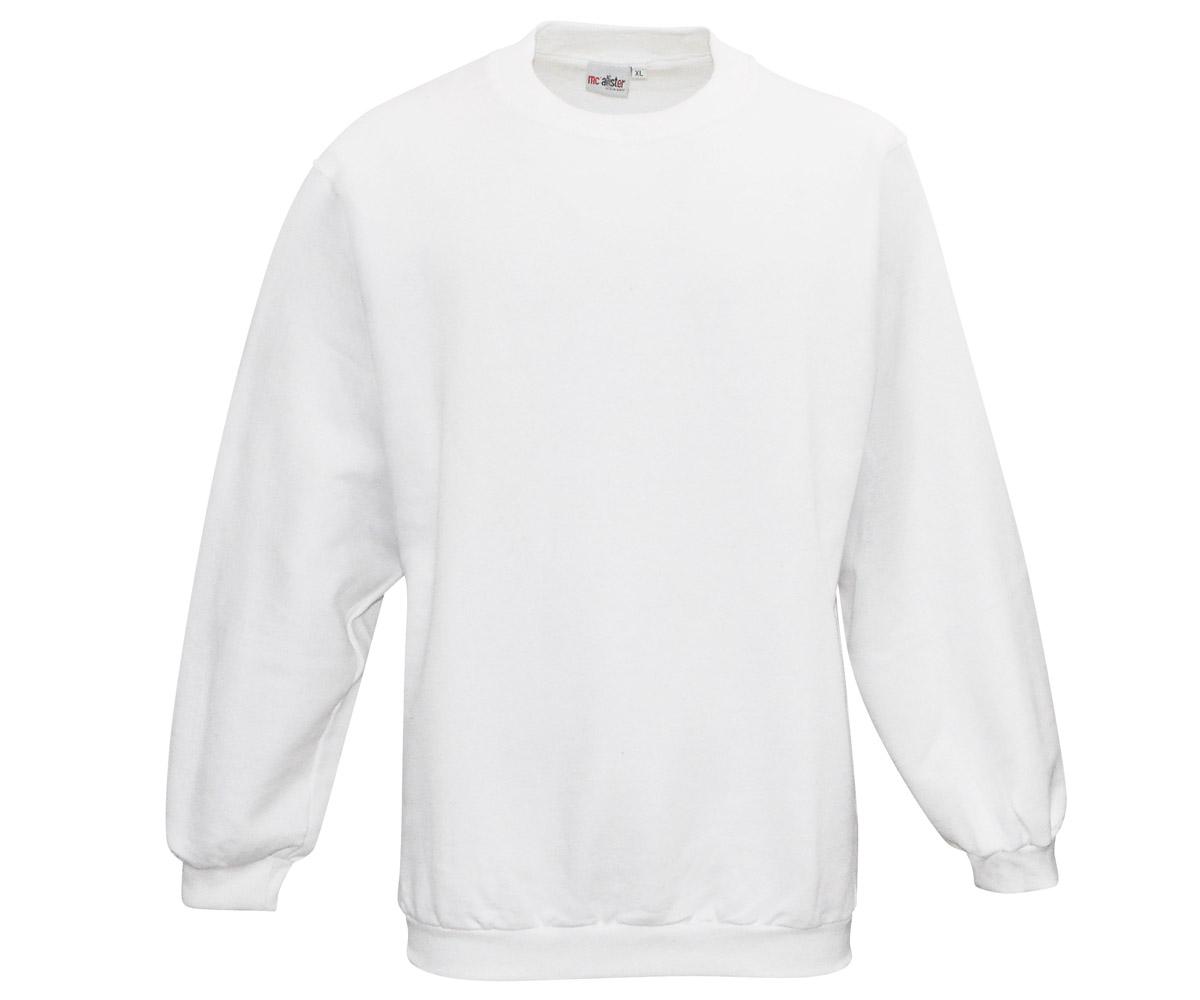 Active Wear Pullover weiß