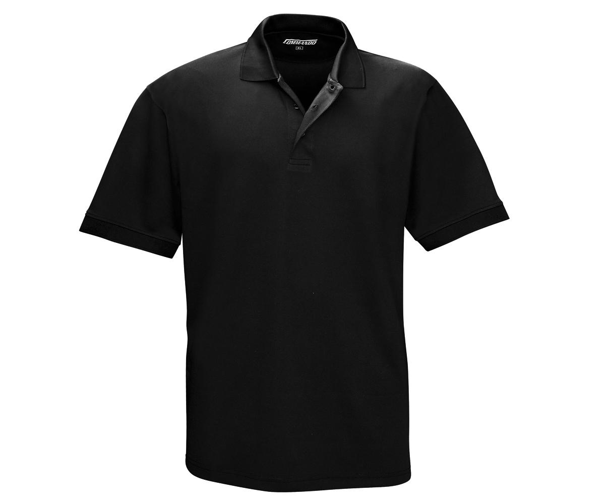Tactical Polo Shirt QuikDry schwarz