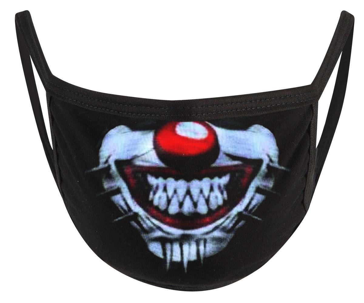 Pinhead Clown Mund Nasen Maske