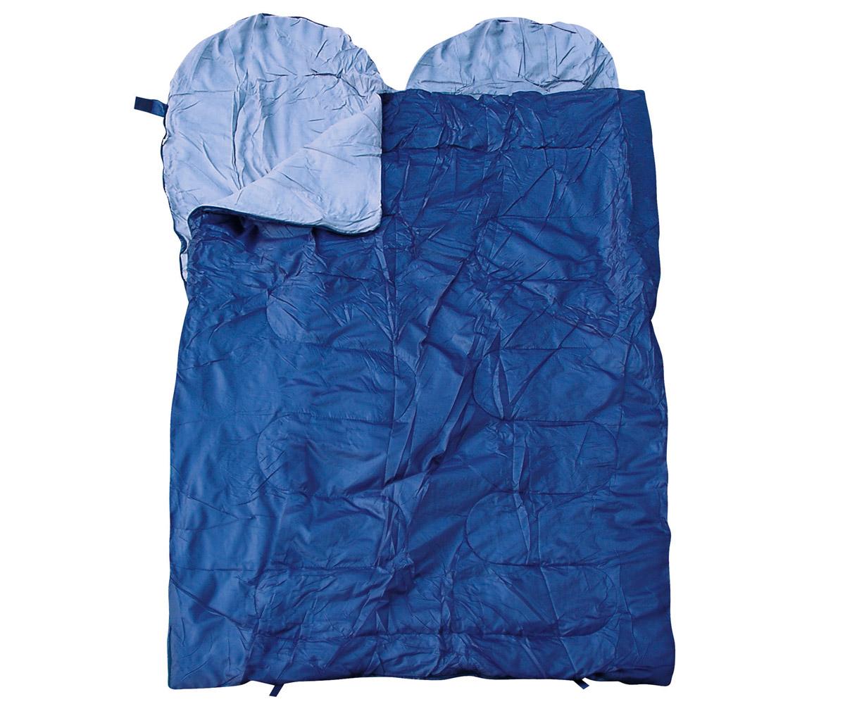 Doppel Schlafsack blau