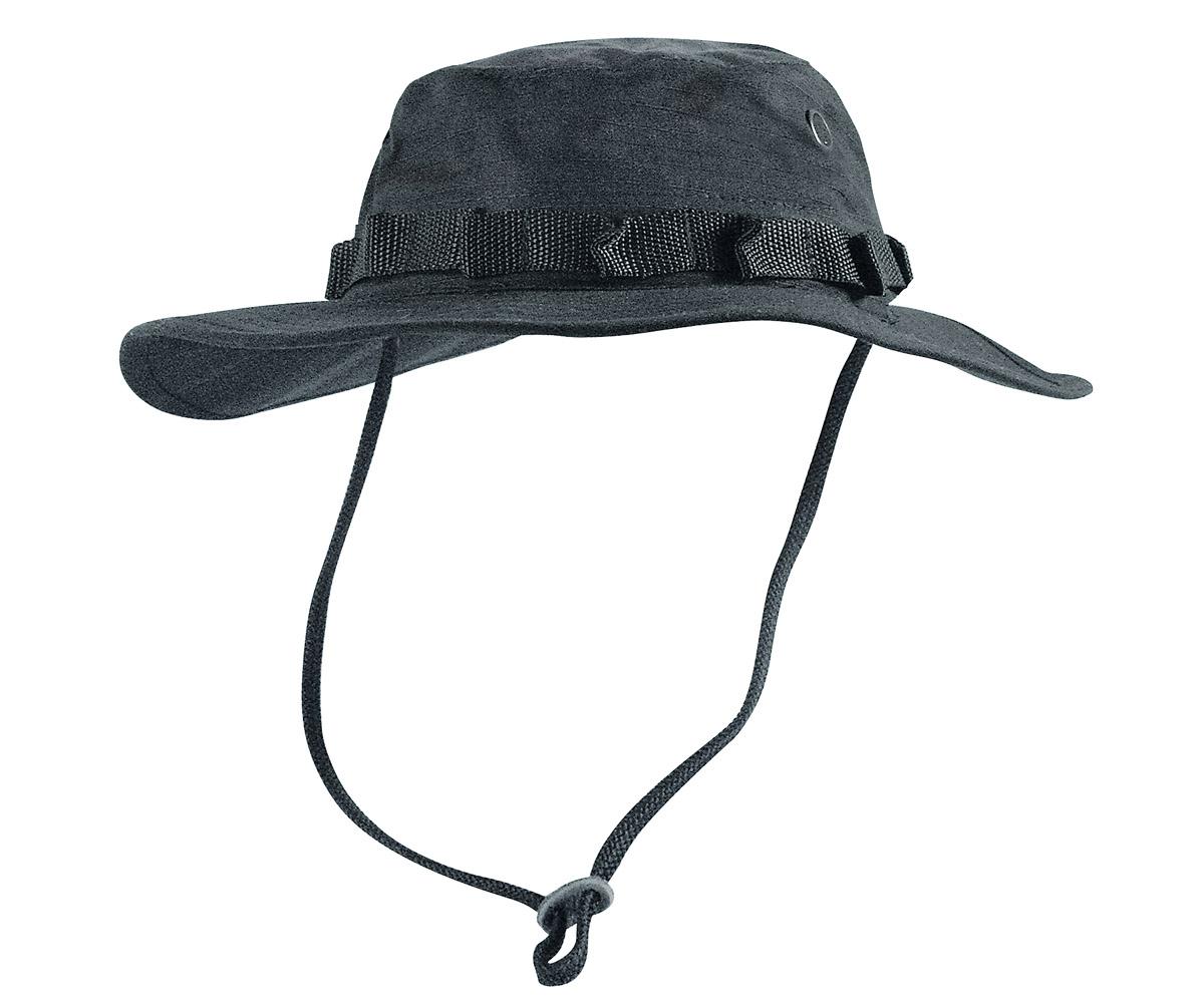 Boonie Hat schwarz