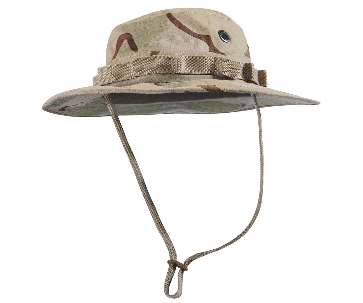 Boonie Hat 3 color desert camo