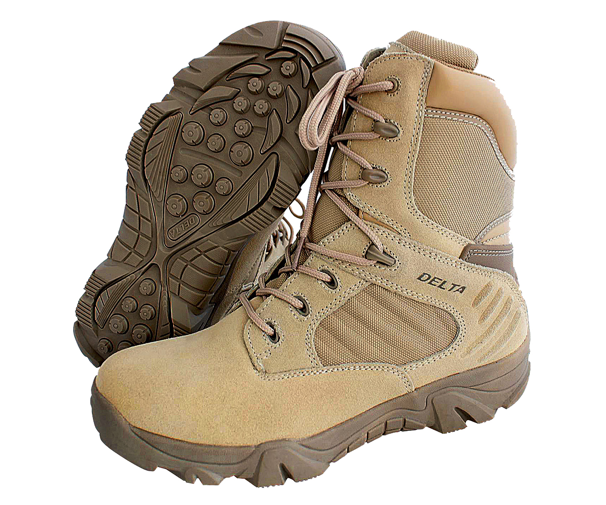 Delta Force Tactical Boots beige