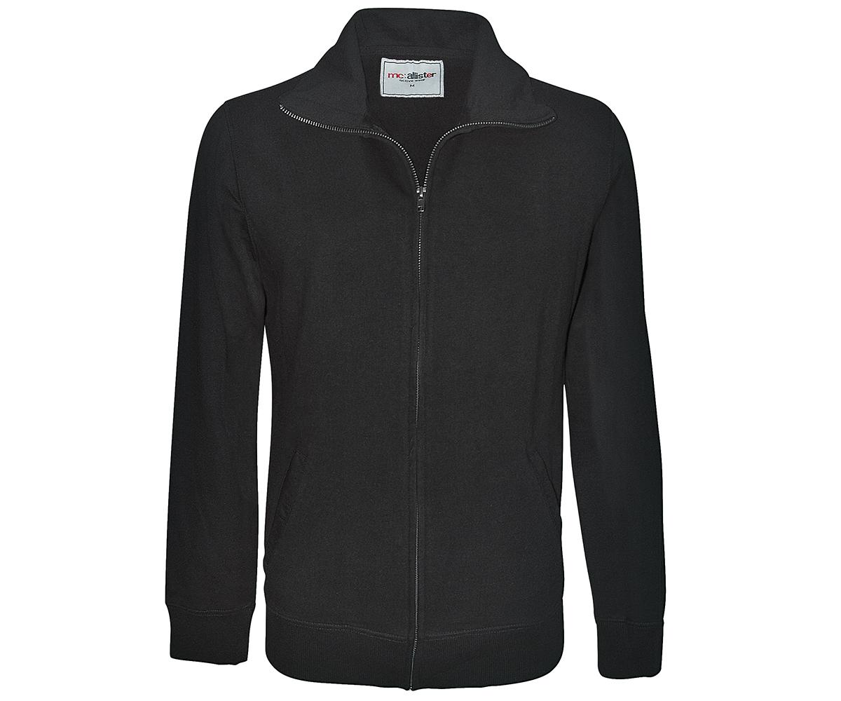 Sweatjacke Active Wear schwarz