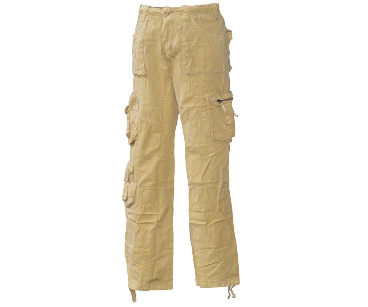 Big Shot Cargo Hose Vintage beige