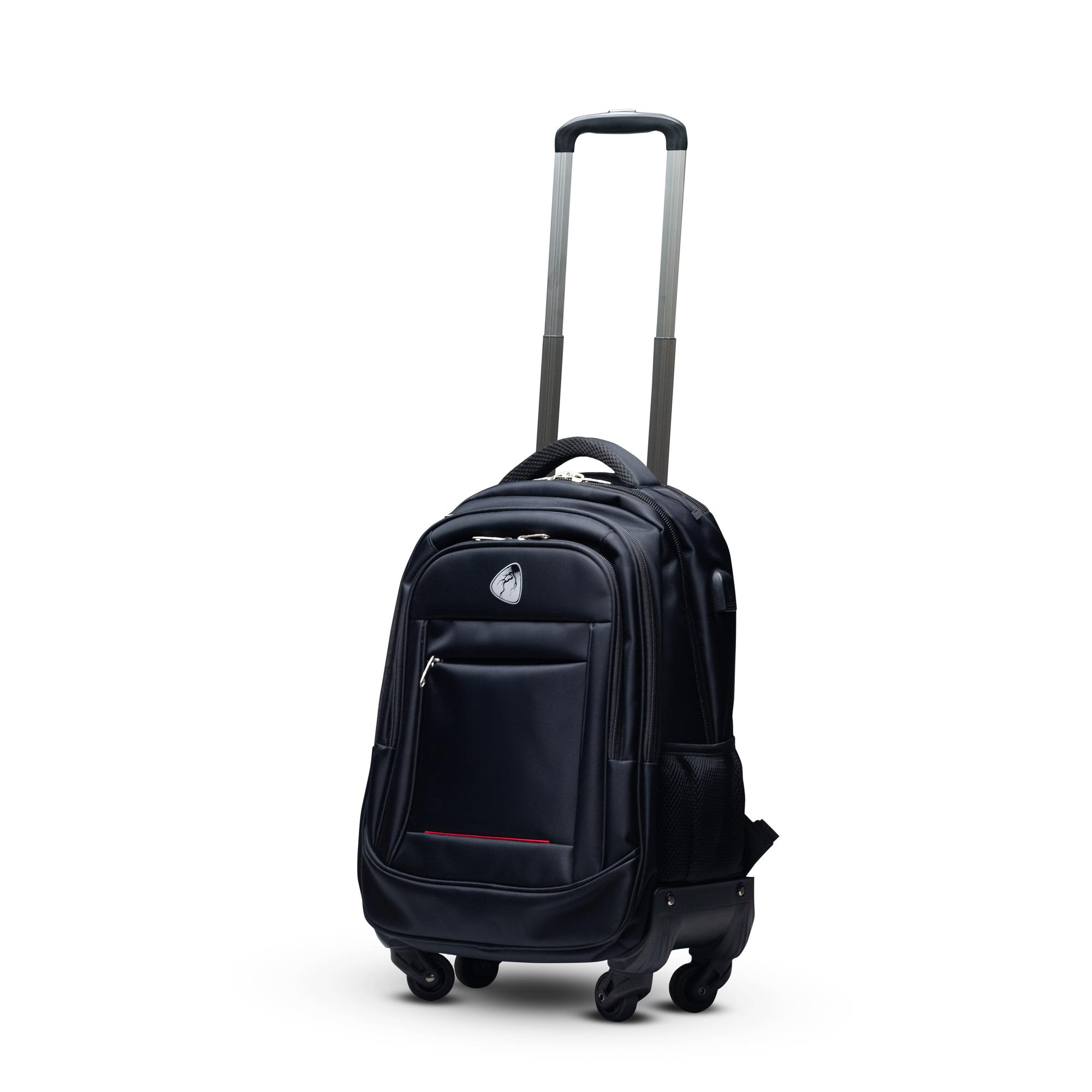BLITZER Business Rucksack mit Trolley Funktion