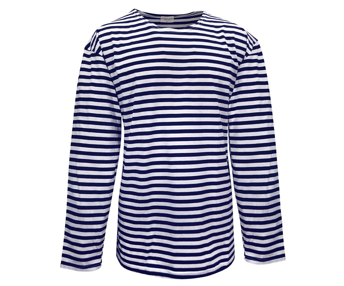 Marine Langarm Shirt