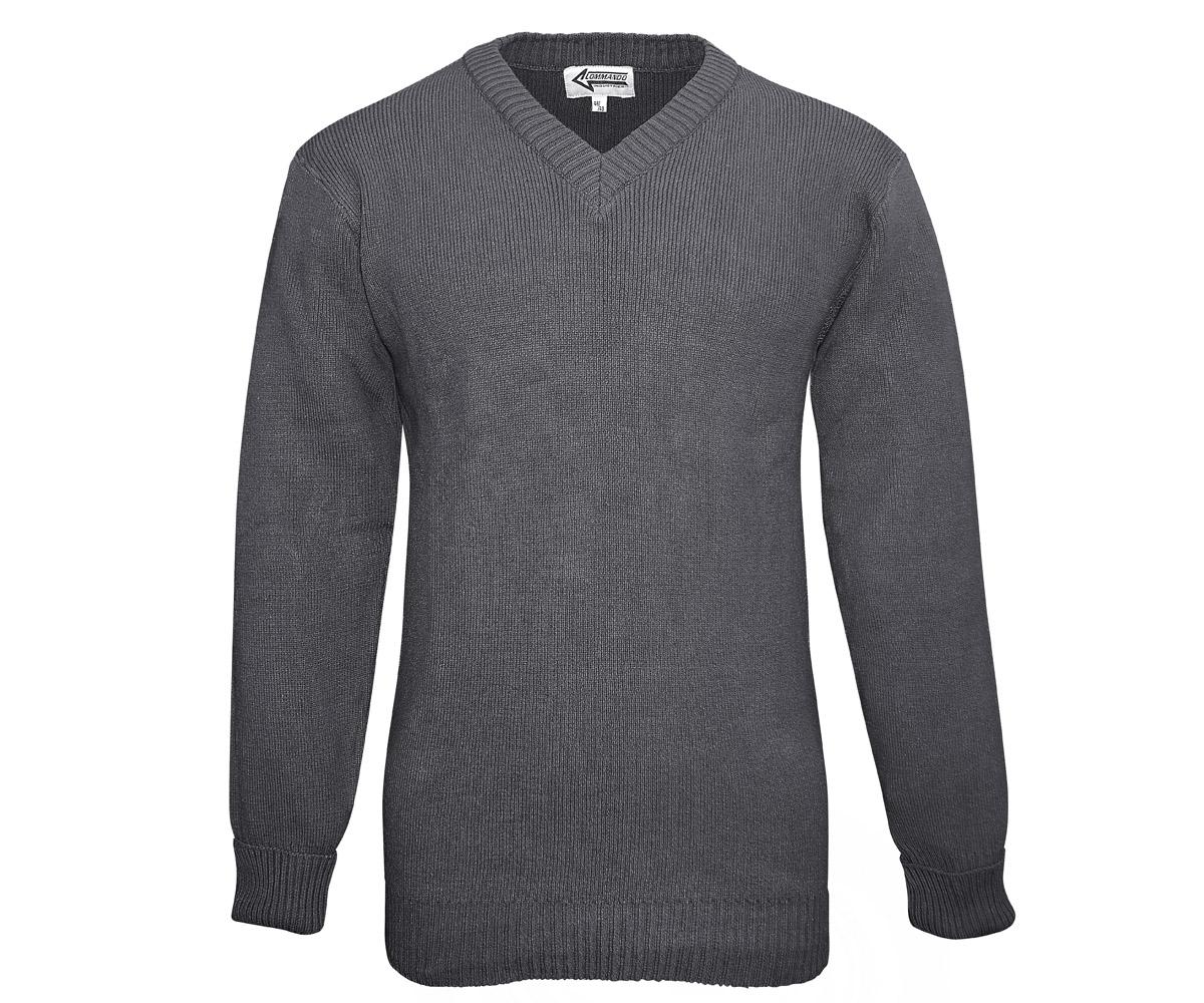 BW Dienst Pullover grau