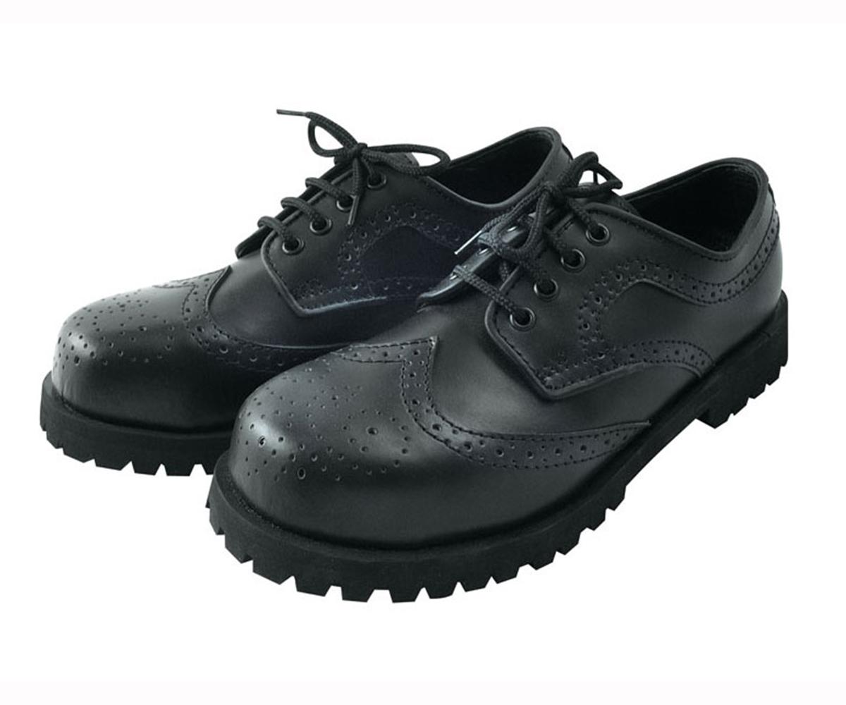 Ranger Boots Budapester Style schwarz