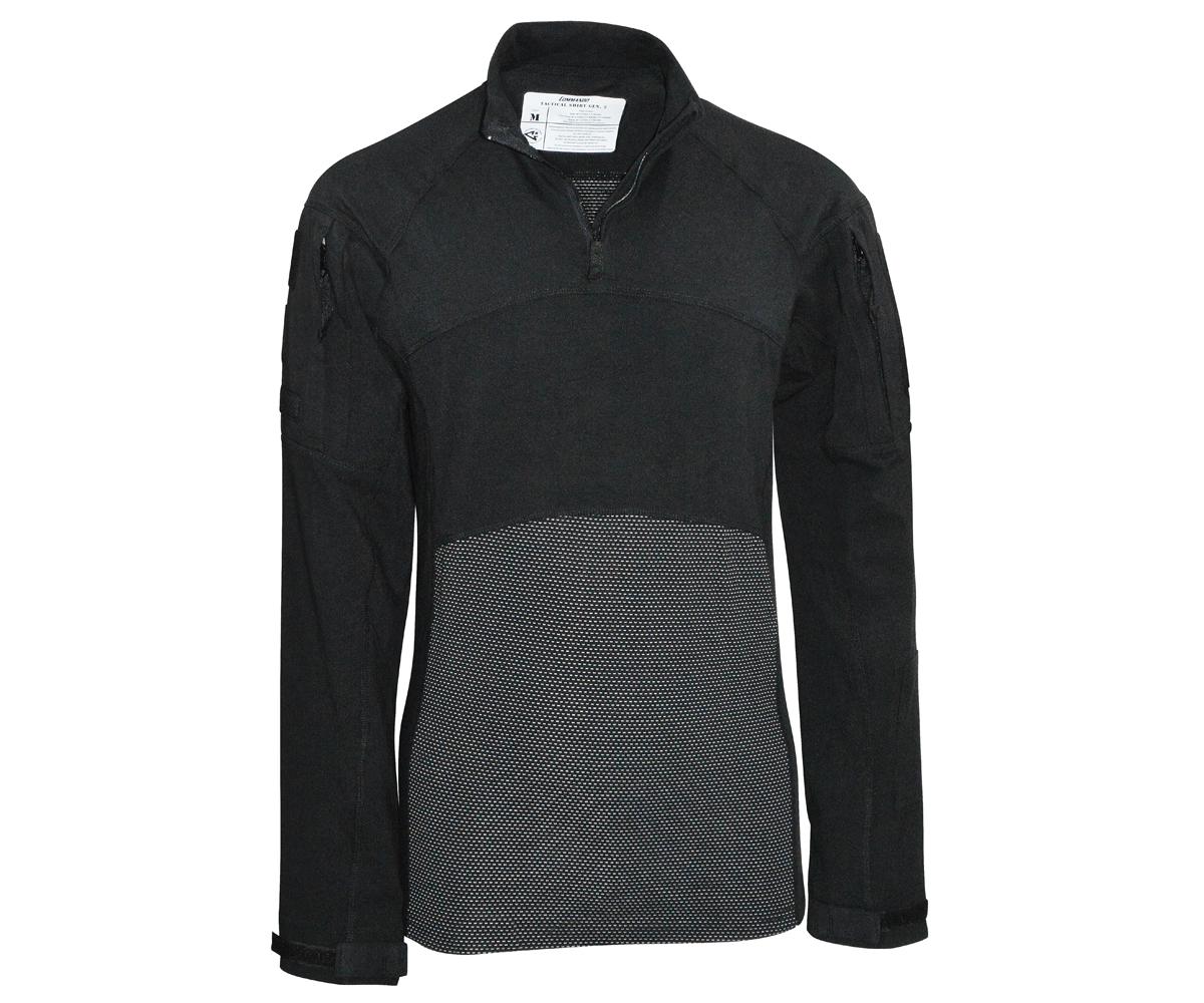 Tactical Langarm Shirt Generation II schwarz