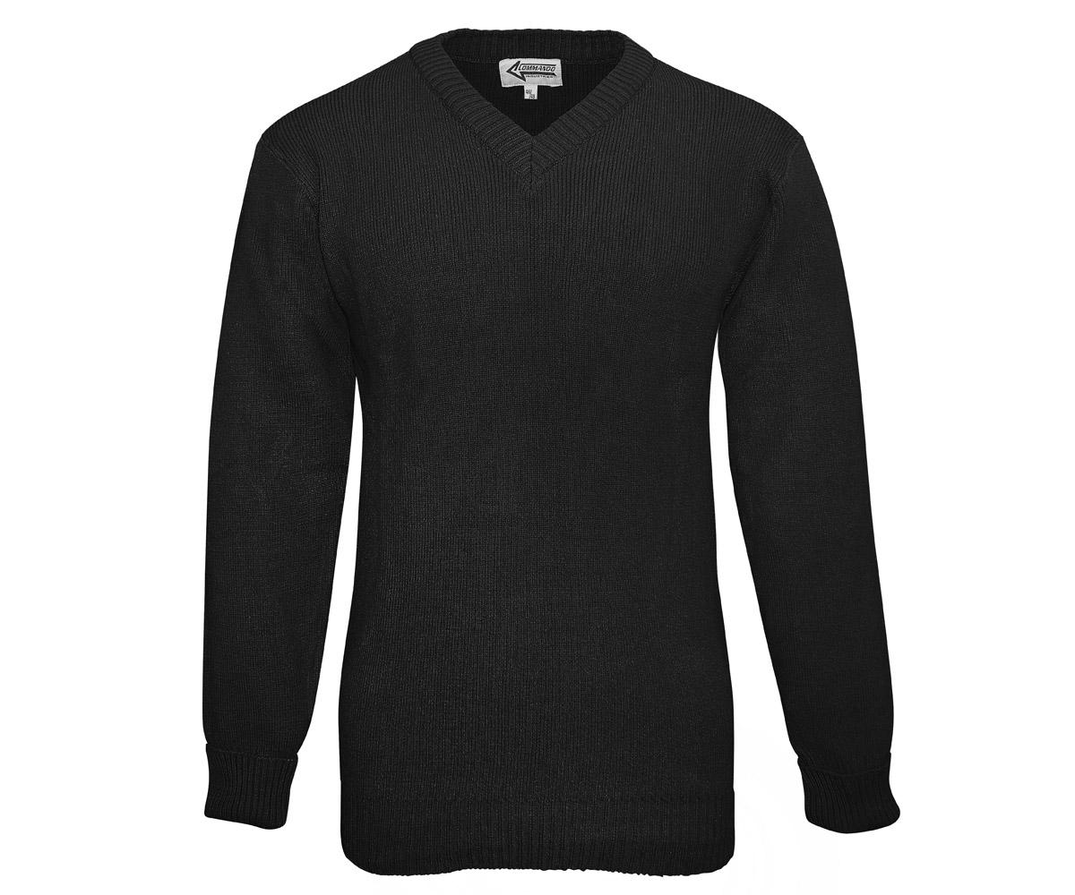 BW Dienst Pullover schwarz