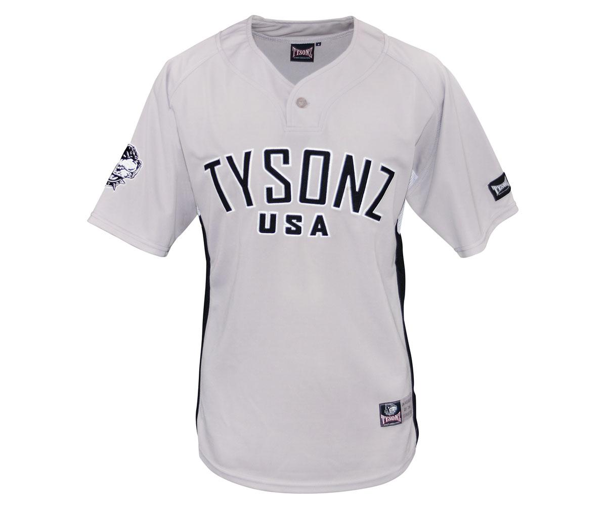 Kinder Tysonz USA Trikot Shirt 10 grau