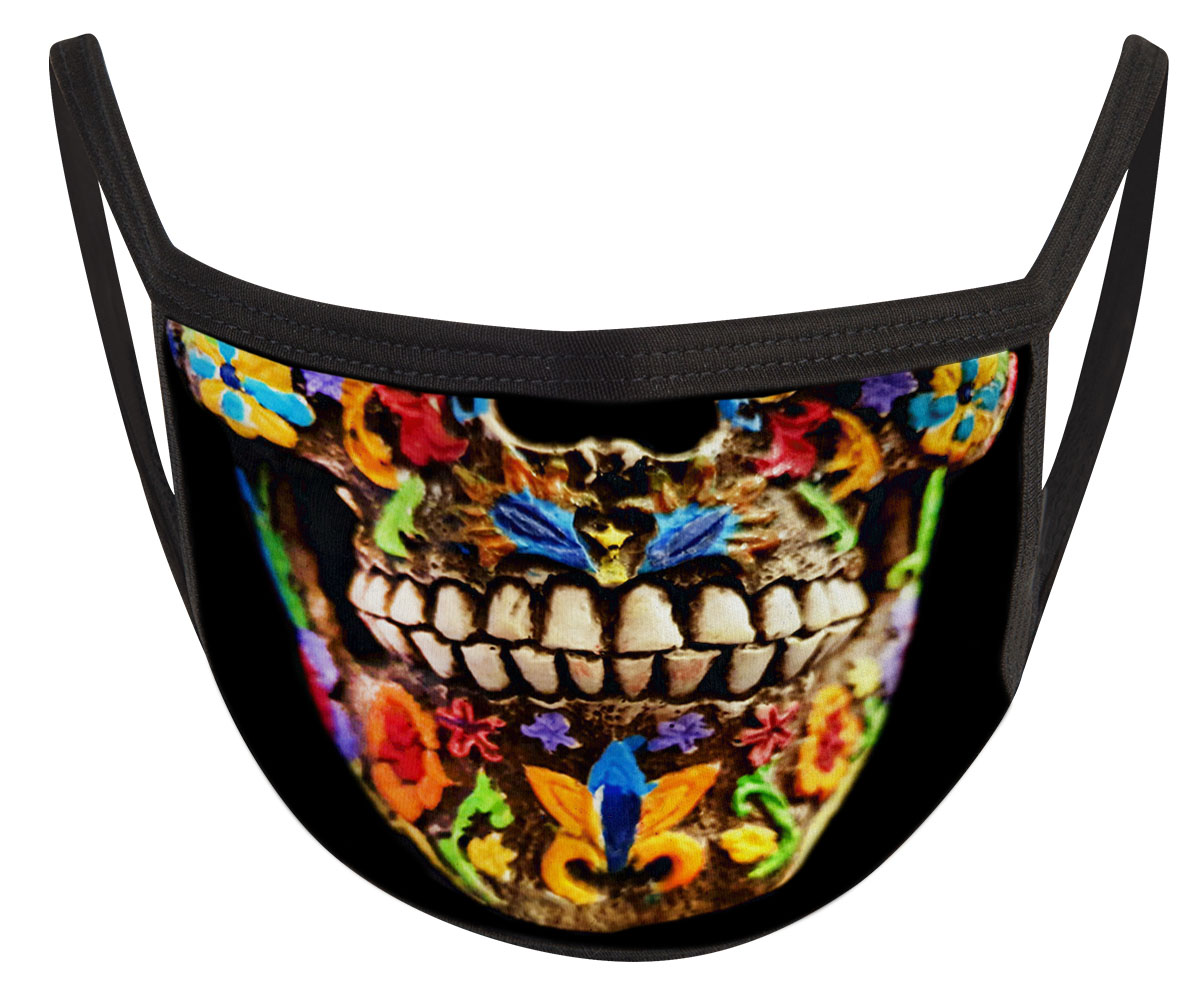 Mexican Skull Mund Nasen Maske
