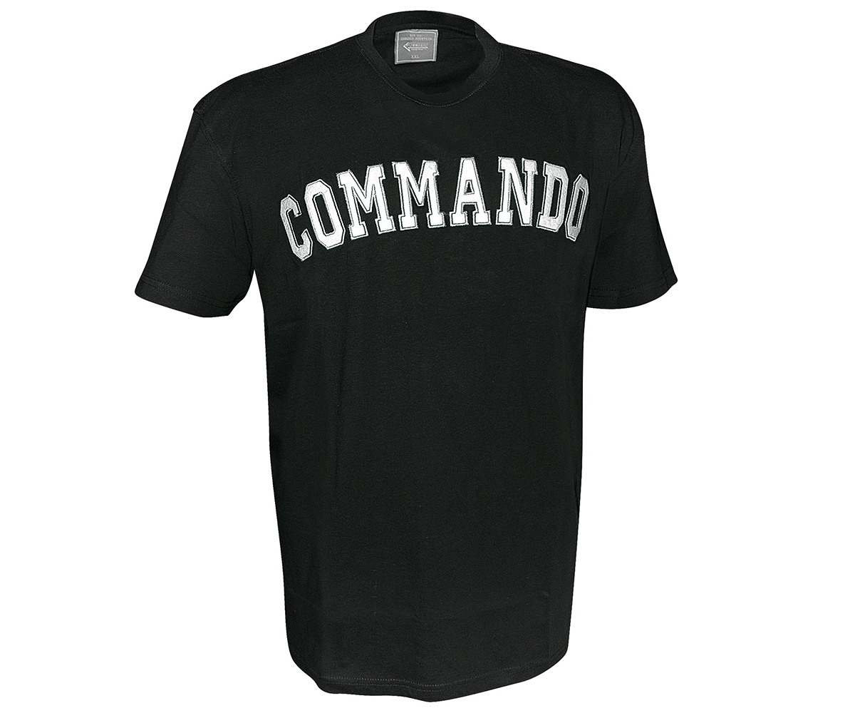 Commando APP T-Shirt schwarz