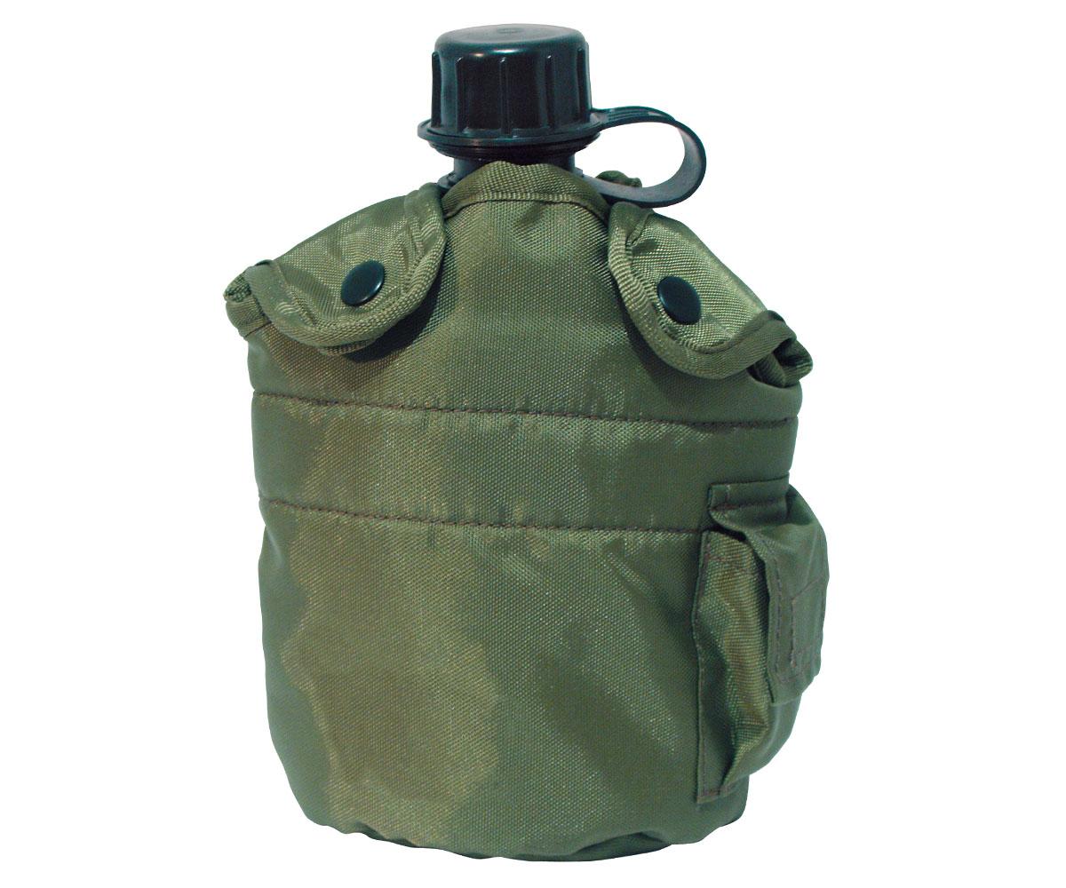 Feldflasche Army Style oliv