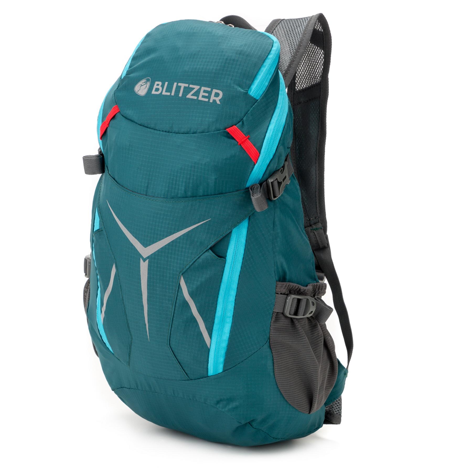 Blitzer Leichter Rucksack [420g] - 20L Fassungsvolumen petrol/hellblau