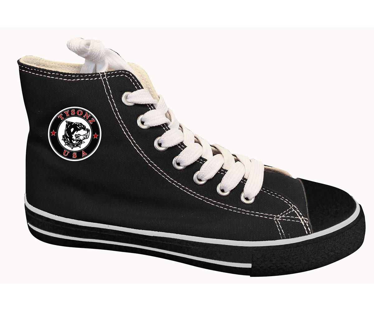 Sneakers hoch schwarz